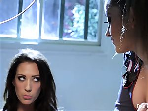 Bad female Capri Cavanni gets punished by Dani Daniels