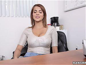 Latina cougar very first pornography Shoot at Bangbros hih13659
