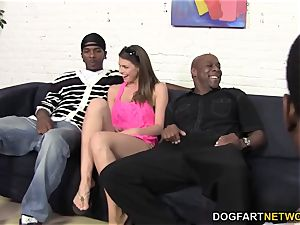 curvy Brooklyn chase prepped for all those black fuck-sticks