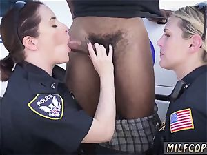 mummy and acquaintance s daughter-in-law interracial three-way faux taxi police dude We are the Law my
