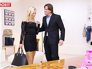 LETSDOEIT - Tailor Seduced And humps youthfull client