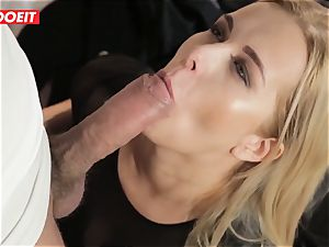 LETSDOEIT - steamy blondie Tricked Into hump By Czech dude