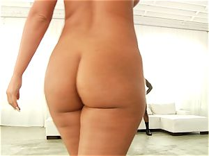 Phoenix Marie getting her bouncy backside pounded with dark-hued man meat
