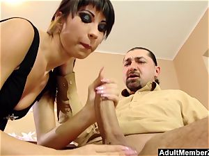 A little arm And oral pleasure For This pervert