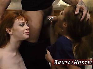 Reality bondage sadism & masochism spectacular young nymphs, Alexa Nova and Kendall forest, take a train-ride