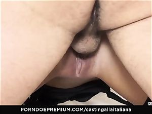 audition ALLA ITALIANA - naughty fuck-a-thon with local amateur