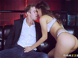fresh chick Cindy Loarn pulverizes the bosses huge fuck-stick