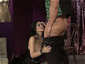Rebeca Linares is a passionate gypsy with hefty funbags