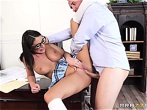 August Ames pleases the dean