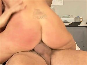 horny Nikki Benz luvs getting sopping in jizz