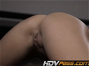 2 sapphic brown-haired Chanel Preston and Anne Marie Rio sixty nine