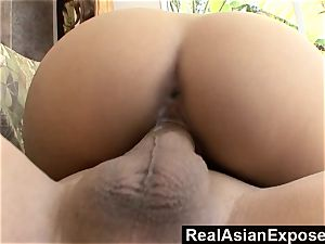 RealAsianExposed youthful Zoey pummeled