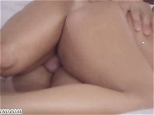 perfect Russian porno with captivating hottie quirk