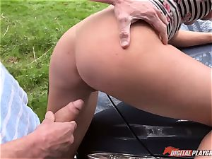 Lexi Lowe gets trio hard-ons to have fun with