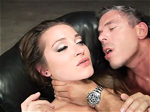 Dani Daniels gets her molten cunny crammed with stiff salami