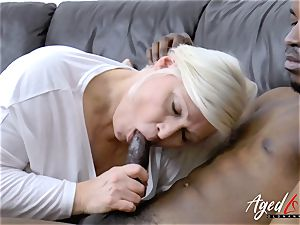 AgedLovE Mature Lacey Starr hardcore dt