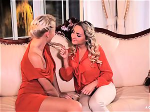 A doll KNOWS - voluptuous bang with red-hot Czech lesbians