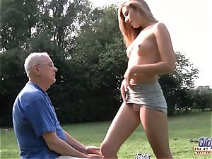 old pornography sexy nubile giving blowjob and pounded