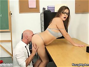 Dear teacher, I was a bad girl! penalize me satisfy