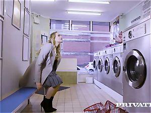 Private.com - Mia Malkova gets banged in the laundry
