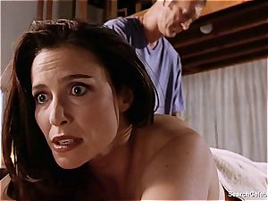 fantastic Mimi Rogers gets her whole body rubbed