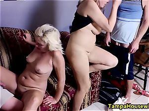 two gals start, two dudes finish with Ms Paris Rose