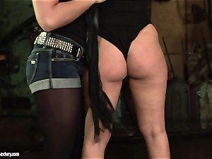 Kathia Nobili mega-slut use lash to a nasty stunner