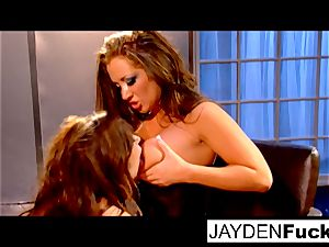 girl on damsel with Taylor Vixen