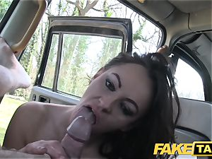 faux cab Street girl humps cabbie for cash