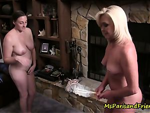 Ms Paris Rose and Melanie Hicks in labia, Maid to Order