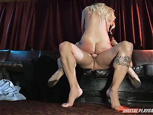 wild ash-blonde honey Courtney Taylor smashed in her beautiful cock-squeezing pusy pie pudding