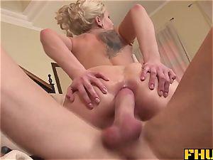 Fhuta super-sexy Dulciny takes a cockballsdeep