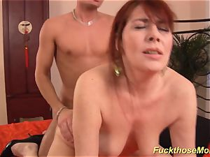 sandy-haired stepmom need a mighty fuckpole