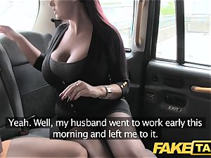 faux cab secretary gal with fat boobs and moist cooch