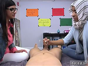 Mature arab mummy Fellas, want your chick to gargle your trouser snake like Mia Khalifa?