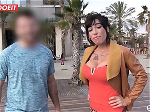 lucky unexperienced dude gets boinked by a porno star in studio