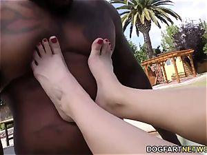 Edyn Blair big black cock sole Fetish