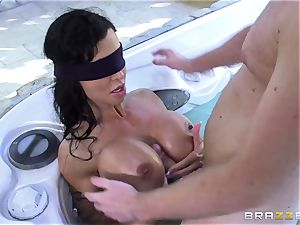 OMG! I banged my finest friend's huge-titted naughty mommy joy buttons Jade