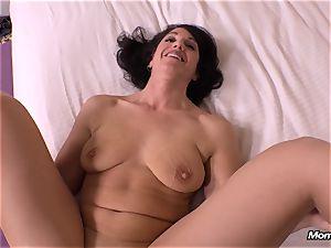 virginal dark haired cougar cuckold internal ejaculation desire