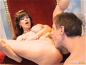luscious milf Lisa Ann is princess of sensational screwing