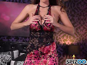 Spizoo-Watch Alison Tyler boning a phat stiffy massive udders