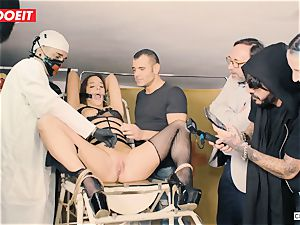 LETSDOEIT - Amirah Is manhandled at her first-ever sadism & masochism soiree