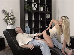 OLD4K. super-fucking-hot romp of aged and youthfull lovers ends with excellent internal cumshot