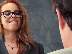 fresh educator Britney Amber porks for her job