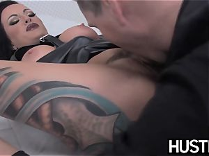 emo milf Lola sugary fuckbox pummeled with fuck-stick and fucktoys