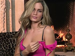 scorching Candi Moore flashes off in her fantastic undergarments