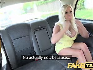 fake taxi humungous fun bags platinum-blonde Michelle Thorne