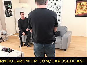 unsheathed casting - Coco de Mal humped in scorching audition