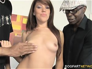 Lizzie Tucker tries interracial fuck-a-thon In Front Of webcam