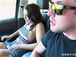 Keisha Grey getting drilled via the car
